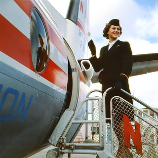 Air Hostess Uniform 1959 Winter 001