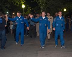 Expedition 37 Preflight (201309250023HQ) (NASA HQ PHOTO) Tags: nasa kazakhstan baikonur michaelhopkins olegkotov cosmonauthotel carlacioffi roscosmosrussianfederalspaceagency expedition37 expedition37preflight sergeyryazanskiy