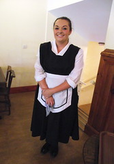 WOW! - what a waitress!! (Snapshooter46) Tags: cafe uniform beamish waitress prettygirl tearooms dayout countydurham beamishmuseum abeauty