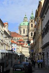 008740 - Praga (M.Peinado) Tags: canon torre praha praga reloj tranvía chequia česko českárepublika 2013 ccby čr canoneos60d repúblicachecha 04092013 septiembrede2013