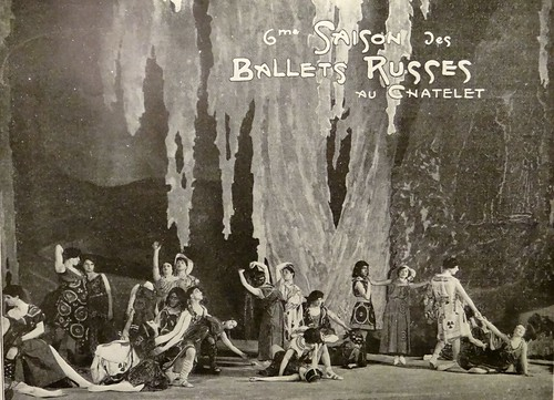 A Scene in Ballets Russes'