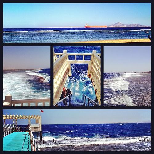 Waves of Naama Bay #sharm