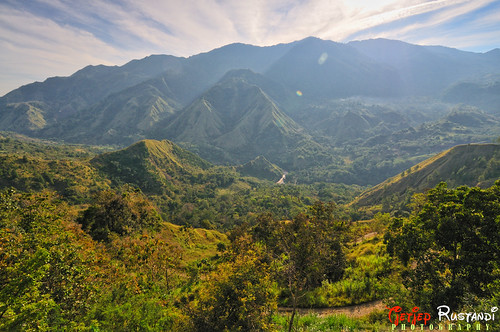 Exotic Mountain along way to Tana Toraja