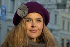 Mi Gronlund - Stranger # 605 / 700 - Explored (Poupetta) Tags: beautiful helsinki stranger actress finnish migrnlund