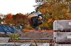 The Sphere (gigi_nyc) Tags: nyc newyorkcity batterypark lowermanhattan thesphere