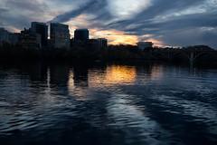 Sunset (vpickering) Tags: park sunset river dc sundown parks sunsets georgetown rivers potomac rosslyn potomacriver georgetownwaterfrontpark
