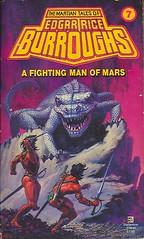 Burroughs, Edgar Rice - A Fighting Man of Mars (1981 PB) (sdobie) Tags: 1979 barsoom books burroughs covers fighting man mars whelan export 2000views 2500views edgarriceburroughs michaelwhelan
