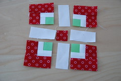 the Forgotten Five Minis (easypatchwork) Tags: miniature pattern quilt free quilts simple weave tutorial freepattern dollquilts glamping unicolors modabakeshop fivepatch easypatchwork