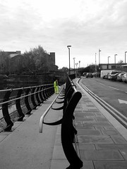 Rotherham Town 27th Nov 2013 BW (Chris.,) Tags: england bw railwaystation rotherham southyorkshire