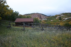 Roxborough Cabin (The Good Brat) Tags: park autumn nature landscape us colorado state image roxborough