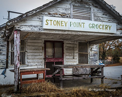 Stoney Point Entrance (augphoto) Tags: old building history texture abandoned architecture us ruins exterior unitedstates decay southcarolina greenwood structure business weathered grocery augphotoimagery