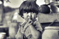 Kid (Sulafa) Tags: blackandwhite bw kids children kid child hdr ولد طفل أطفال أولاد اسودوأبيض