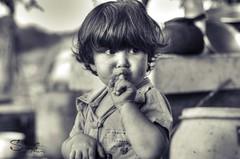 Kid (Sulafa) Tags: blackandwhite bw kids children kid child hdr