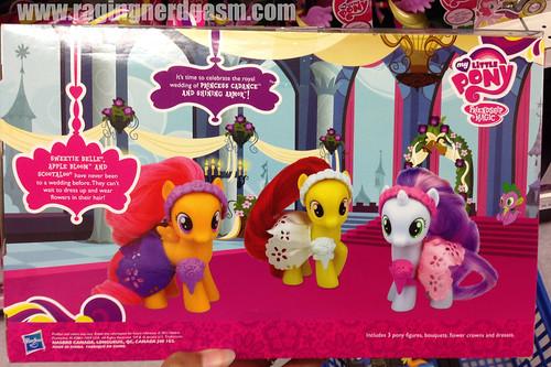 My Little Pony By Hasbro Figure Set Wedding Flower Fillies Sweetie Belle Apple Bloom Scoot A