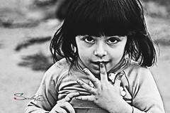Jasmin (Sulafa) Tags: blackandwhite bw children kid child