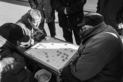 Chinese chess players (cjacky2221) Tags: china blackandwhite monochrome beijing chess streetphotography  chinesechess  streetphotographer