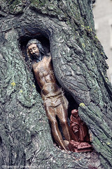 El Cristo del rbol./ The Christ of the Tree. (Recesvintus) Tags: sculpture espaa tree spain europ