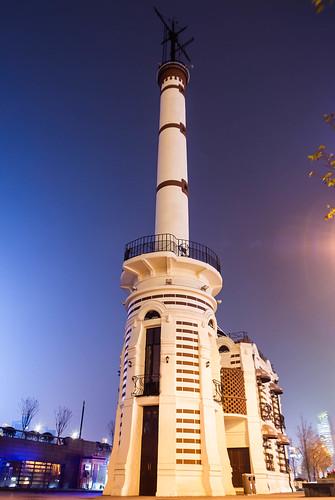 (1907年)The Gutzlaff Signal Tower