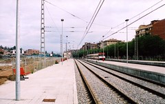 Vic 25.08.2002 (The STB) Tags: vic estacin estaci renfe adif provisional