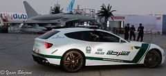 Dubai Police Ferrari FF vs Eurofighter Typhoon 2020 (Yasir_Bhojani) Tags: 6 ford chevrolet one mercedes benz al dubai nissan martin g c ss uae police continental ferrari 63 camaro m sl mc civil mclaren bmw dodge gran 12 mustang gt audi bugatti corvette lamborghini 77 defense coupe ff defence charger bentley aston v10 mp4 sls laren amg veyron brabus gtr r8 roush  shurta aventador