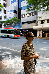 (L.R.Atkinson) Tags: street city color colour girl candid 28mm streetphotography australia brisbane