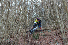 Monte Cavo (Francesco8723) Tags: autumn winter mountain bike canon evening track canyon downhill riding single fox mtb mm monte xc f18 50 inverno autunno montagna freeride berm enduro shox piega 600d cavo sponda allmountain double3 superenduro