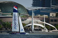 2014-02-22_Extreme Sailing Series_DSC_1441 (Andrew JK Tan) Tags: sports speed singapore action sailors catamaran 2014 marinabay extreme40 extremesailingseries