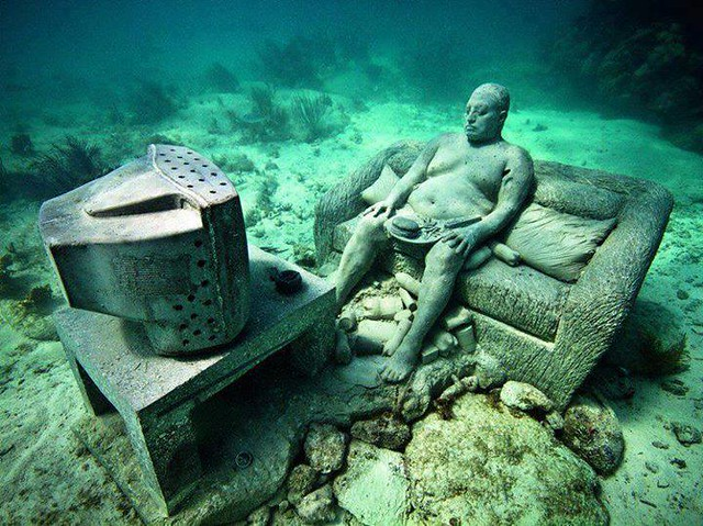 Cancun Underwater Museum , #Mexico