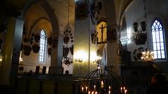 glise aux blasons (navyblue89) Tags: church glise tallin blason