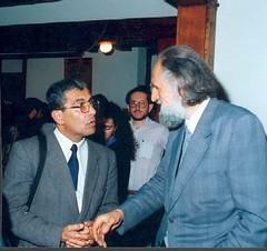 Con Gastón Soublette, académico de la Pontificia Universidad Católica de Chile