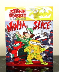 Ninja Slice (Vernon Barford School Library) Tags: new school fiction friends rabbit bunny bunnies stone reading book high friend friendship ninja being library libraries alien reads evil books aliens read paperback pizza cover slice junior novel erik covers parlour bookcover rabbits middle extraterrestrials vernon parlor beings recent extraterrestrial bookcovers paperbacks craddock novels fictional friendships barford softcover vernonbarford softcovers 9780375867231
