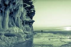 Icing (Boreal Bird) Tags: winter snow cold ice frozen lakesuperior apostleislands icecaves hss apostleislandsseacaves sliderssunday maryamerman