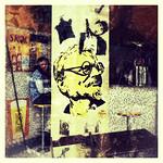 Corner store with Trotski (Sao Paolo, Brazil)