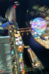 Feel Like I'm Dreaming (Masahiko Futami) Tags: city reflection water rain japan architecture night canon asia photographer illumination  yokohama    sakuragityou   minatomirai21      21 eos5dmarkiii citytraveler