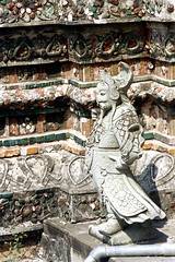 19-281 (ndpa / s. lundeen, archivist) Tags: color detail building film statue architecture 35mm buildings thailand temple colorful stones bangkok buddhist stonework details nick thai figure 1970s ornate 1972 19 buddhisttemple watarun 1973 dewolf architecturaldetails templeofdawn nickdewolf photographbynickdewolf reel19