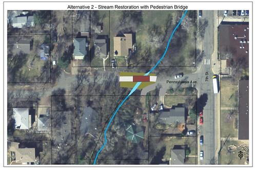 Photo - Pennsylvania Avenue Flood Repair - Alternative Two