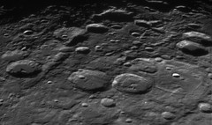 Rheita Vallis Region On Moon (Ted Dobosz) Tags: camera moon crater valley impact vallis lunar 25x powermate celestron c11 fabricius metius rheita dmk23u274