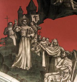St Augustine preaching to King Æthelbert