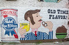 Hand painted beer (Tim Brown's Pictures) Tags: street summer urban streets bar washingtondc alley mural nw corridor streetphotography tavern shaw urbandevelopment ustreet sollys millenniums