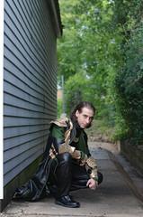 Loki (Jenna Frenzel) Tags: art comics photography book costume comic texas photoshoot artistic cosplay tx houston age loki thor marvel avengers waller ultron bunniplague
