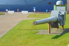 15cm, Kanone der Tirpitz, (horseandbikeride) Tags: wilhelmshaven kanone 2015 tirpitz 15cm marinearsenal