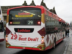 138 (Callum's Buses and Stuff) Tags: park bus buses volvo edinburgh leader 29 lothian eclips lothianbuses edinburghbus b7rle sk07cgv