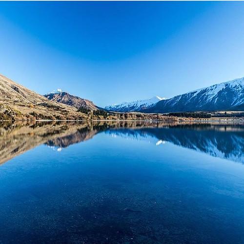 Quintessential Glendhu Bay near #Wanaka looking stunning. Thanks @infarawayland for the share 👍 #lovewanaka