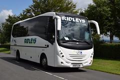 SK07LZD  Ridleys, Leamington Spa (highlandreiver) Tags: bus green mercedes benz scotland coach scottish gretna leamington spa coaches ridleys unvi sk07lzd