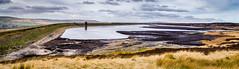 Warland Reservoir (rogerodoherty) Tags: reservior waterworks windmills panorama yorkshire hebdenbridge warland