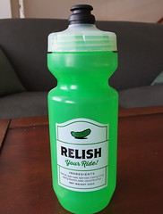 Relish Water Bottle (Mr.TinDC) Tags: waterbottle spurcycle districtcycleworks biking green
