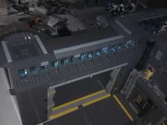 Entrée base (ced12110) Tags: lego base futuron space moc