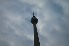 Skyhigh (mariahaselhuber) Tags: berlin travel travelphotos travelphotography traveljournalism travelling germany siegessäule worldclock fernsehturm photography photojournalism photos flowers statue sudan mirror lights sky landscape
