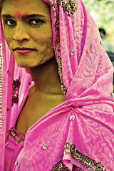 முகம் (Kals Pics) Tags: face portrait eyes happiness smile koothandavartemple koovagam transgenders life people festival aravan aravaani mahabharatha lordkrishna mohini history myth divineindia legend culture tradition roi rootsofindia mahabaratha india tamilnadu aravaan aravani happy saree transvestites turmeric costume makeup villupuram divine sacred spiritual holy sari vizhupuram culturalindia kalspics