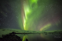 Iceland Northern Lights 1 of 14 (MarcCooper_1950) Tags: iceland nothernlights aurora skyscape intense night sky outdoors reflections clouds mountains winter landscape hdr nikon d810 samsung rokinon 14mm longexposure